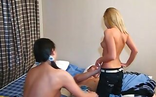 Young Coition Parties - Lukava - Athletic guy fucks two young pussies