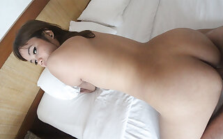 Asian Slut Loving White Cock - AsianSexDiary