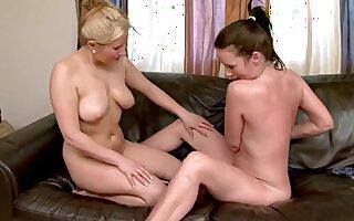 Nice Ass Cheeks - Hot Lesbian MILF Making love