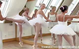 Ballerinas are keen for more than just nudity