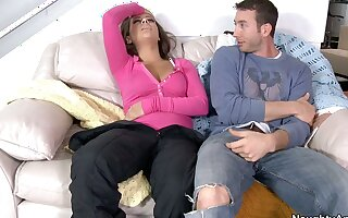 She knows her friend's brother is ready to fuck