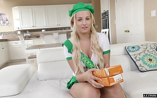 Cute girl scout Sophia Lux getting properly fucked