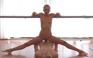 Petite Blinking Ballerina Fucked Stunner