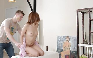 Ardent be in love with assembly with cum in mouth ending for Lila West