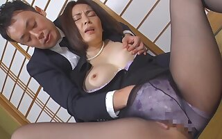 Japanese frying mommy fabulous porn clip