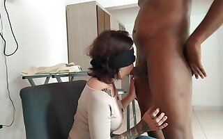 Step Sister Tricked Into Sucking My Weasel words Plus Swallowing My Cum